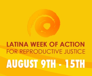Latina Week of Action for RJ logo